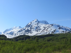 Chugach Mountains enroute Seward