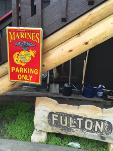 Parking for Marines only!